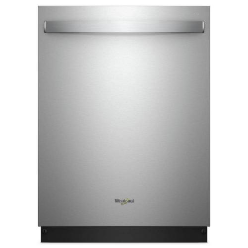Whirlpool 51dBA Fingerprint Resistant Stainless Steel Top Control with Stainless Steel Tub