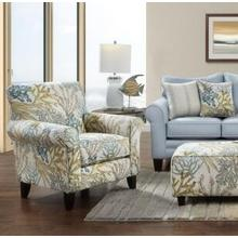 Coral Reef Accent Chair