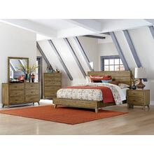 Sorrel Qn Platform Bed, Dresser, Mirror and Nightstand