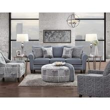 Grande Denim Sofa and Loveseat