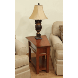 Open Garnet Hill Wedge End Table