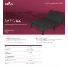 GLIDEAWAY GM100 Adjustable Comfort Livestyle Base