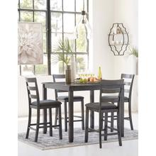 Bridson 5pc Counter Height Dining Set