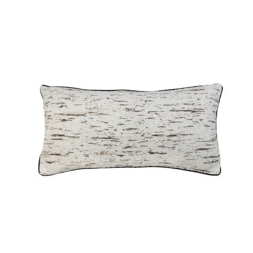 "Birch Bear ""Rectangle"" Throw Pillow"