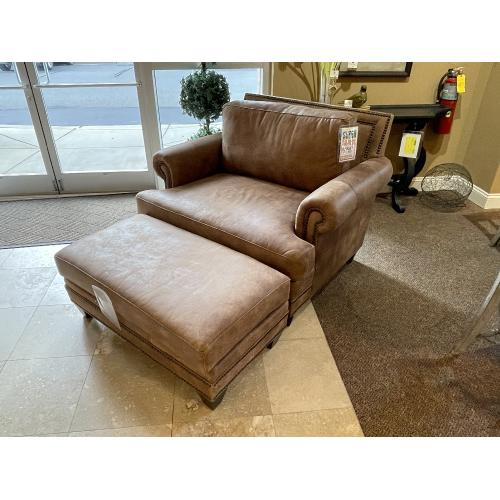 Native By Mayo - Stallone Upriver Rawhide Leather Sofa, Chair and Ottoman