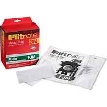 5PK - STYLE FJM MIELE SYNTHETIC BAGS & 2 FILTERS