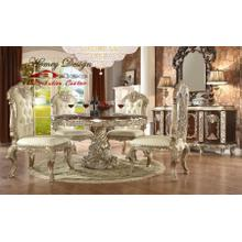 Homey Desing HD8017RD Dining Room set Houston Texas