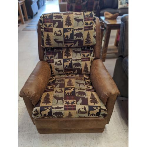 Bfi Collection - Fairbanks Rustic Recliner