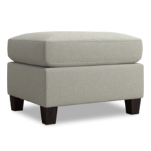 Spencer Ottoman - Seamist Fabric