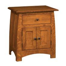 See Details - 1 Drawer 2 Door Nightstand