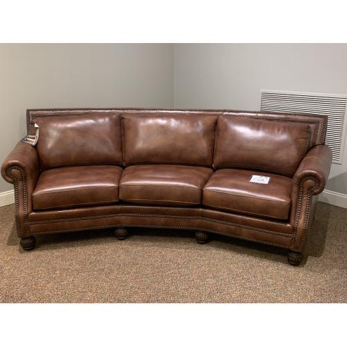 Valentino Cognac Conversation Sofa