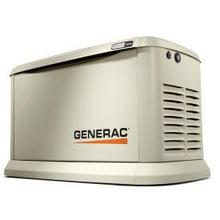 22 KW WHOLE HOME GENERATOR WITH 200 AMP AUTOMATIC TRANSFER SWITCH