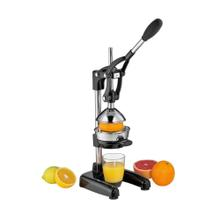 Cilio Stainless Steel Professional Citrus Press, Black
