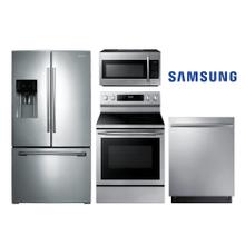 Samsung Kitchen w/ French Door in Stainless