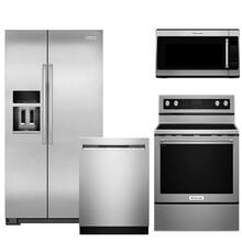 KitchenAid Premium Kitchen Stainless Steel Package