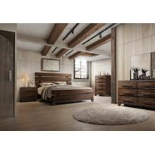 AUSTIN GROUP 578-60H 578-60F 578-60R 578-10 578-01 Valley Forge 3-Piece Bedroom Group - Queen Bed, Dresser & Mirror