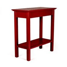 See Details - Chair Side Table, Red