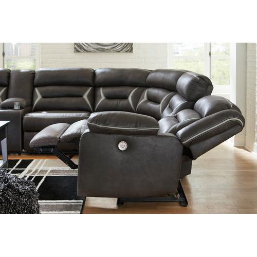 Kincord 4PC Power Reclining Sectional