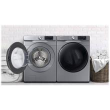 See Details - Samsung Front Load Washer and Gas Dryer Platinum