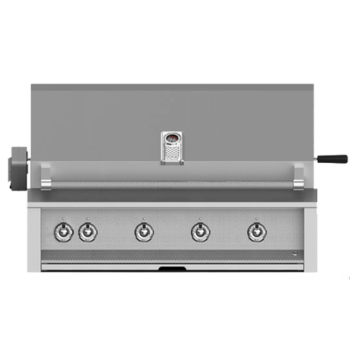 """Hestan - Aspire By Hestan 42"""" Built-In Grill With U-Burner, Sear, And Rotisserie LP"""