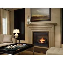 Bellavista B41XTE Large Clean Face Direct Vent Gas Fireplace