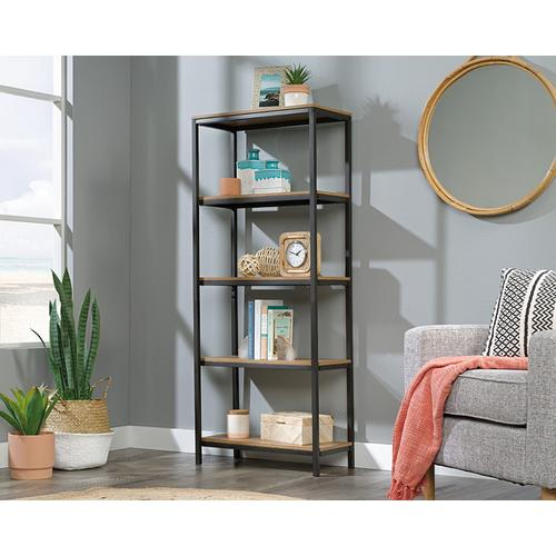 Tall 4-Shelf Bookcase in Sindoori Mango