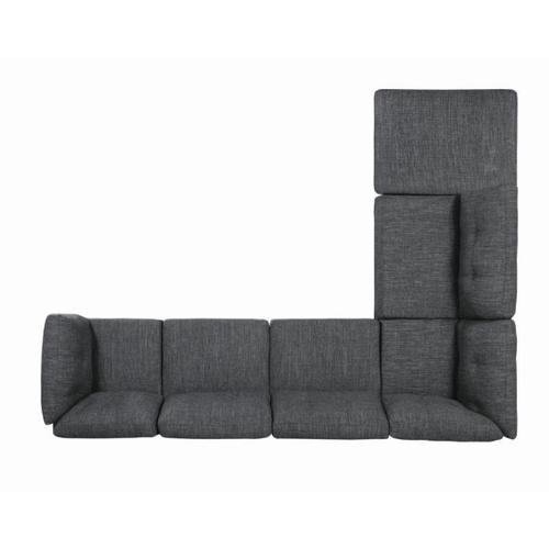 Coaster - Dark Grey 6PC Sectional