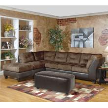 2550 Sectional Walnut