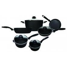 Swiss Diamond XD 10 Piece Set: Gourmet Kitchen Kit, Black