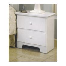Shaker White Nightstand