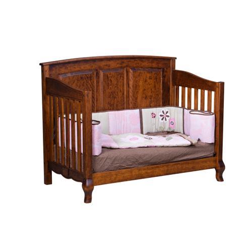 Amish Craftsman - French Country Crib