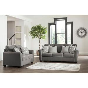 Domani Sofa and Loveseat Set