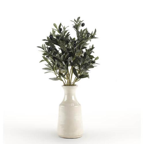 Product Image - Olive Spray in White Ceramic Bottle with Short Neck
