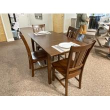 See Details - DINING SET WITH 4 CHAIRS