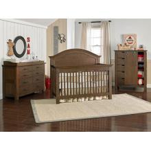 View Product - Lucca Full-Panel Collection - Weathered Brown Finish
