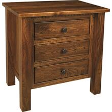 Lindholt 3-Drawer Nightstand