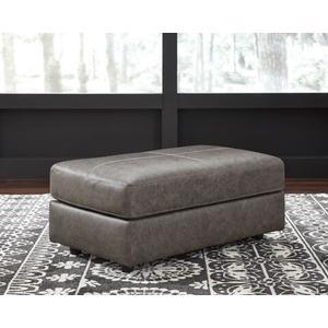 Trembolt-Smoke Ottoman Leather/Match