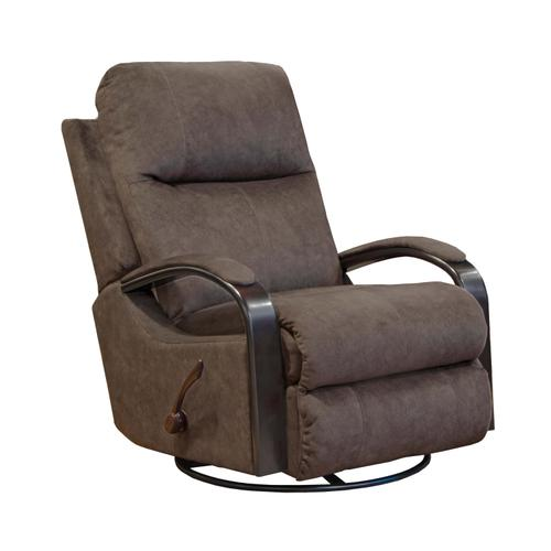 Niles Swivel Glider Recliner - Chocolate