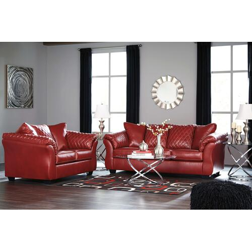 Betrillo - Salsa Sofa & Loveseat