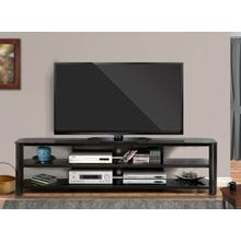 """View Product - Oxford 83"""" TV Stand - Black"""