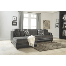Kumasi - Smoke - 2-Piece Sectional with Left Facing Chaise