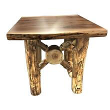 Log End Table