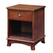 Crescent 1 Drawer Nightstand