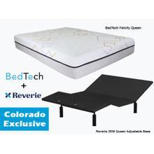 BEDTECH Felicity Queen Mattress & REVERIE Adjustable Base   **Colorado Exclusive**