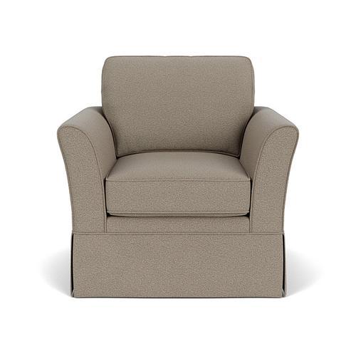 Flexsteel - Fiona Chair in Silver Nickel