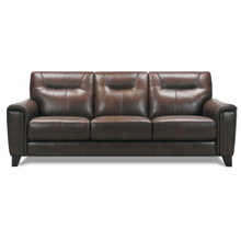 See Details - Leather Sofa in Dark Brown Leather Color *Matching Loveseat also Available*