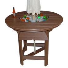 """48"""" Round Bar Table With Bowl"""