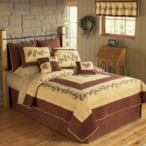 Pine Lodge King Quilt Set