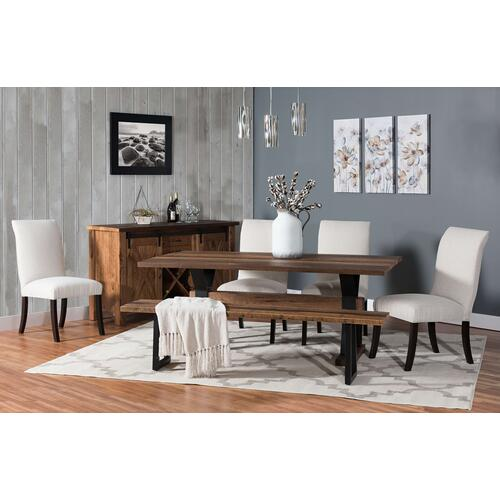 Amish Craftsman - Barnloft Trestle Table