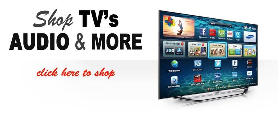 Shop for TV's, Car Audio, Home Audio, Cameras, and more at Davis Furniture and Appliance!
